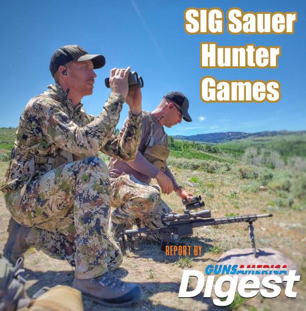 SIG SAUER Cross Rifle ammunition hunter games gun digest true pierce