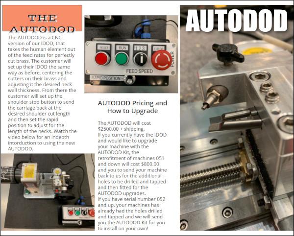 Bryan Blake machine f-class products IDOD AUTOIDOD neck turner turning power machine