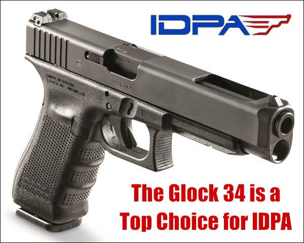 IDPA glock 34 pistol carry match