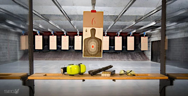NSSF indoor range survey pistol shooters Southwick Associates range report