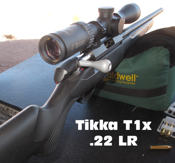 T1X Tikka rimfire .22 LR 22LR