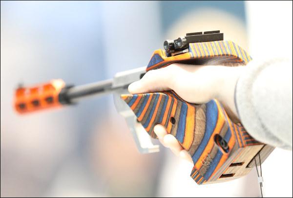 target pistol IWA 2019 walther
