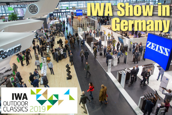 IWA outdoor classics gun hunting trade show