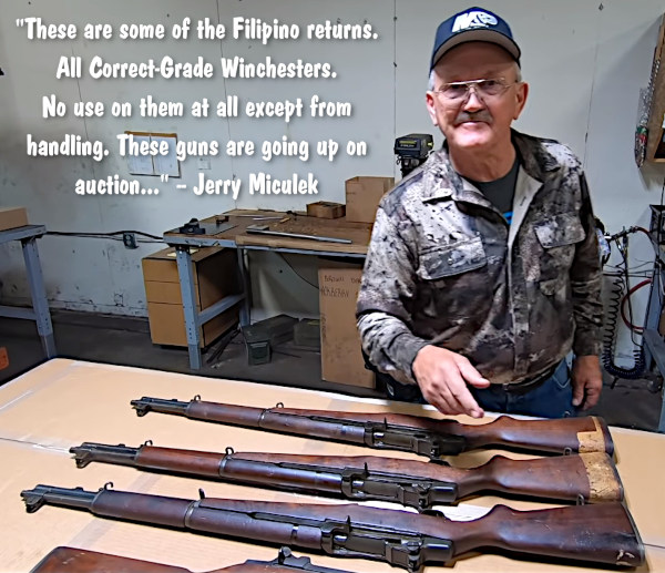 Jerry CMP M1 Garand video
