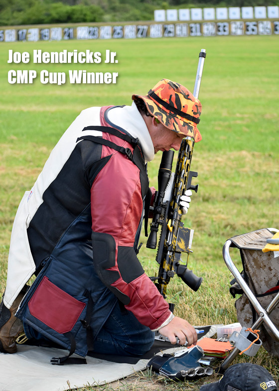 Joe Hendricks Jr. CMP Cup Eliseo tubegun RTS 6 Competition High Power