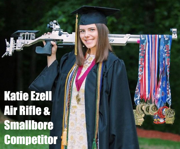 Katie Ezell ohio state junior olympics smallbore air rifle shooting competition
