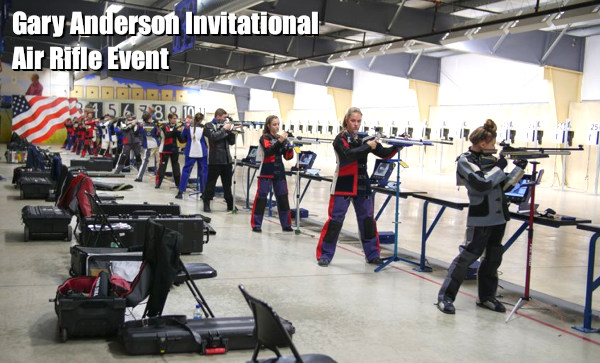 Teen three peat GAI Gary Anderson Invitational air rifle match Katrina winnner