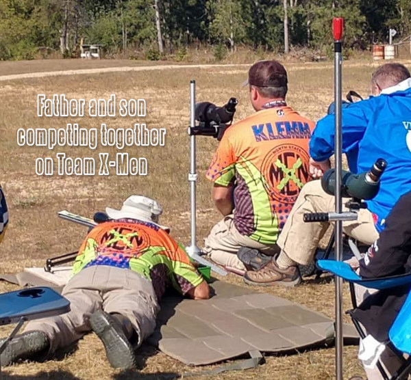 Ian Klemm Ken Klemm F-TR Rifle Father Son USA Team F-Class champion