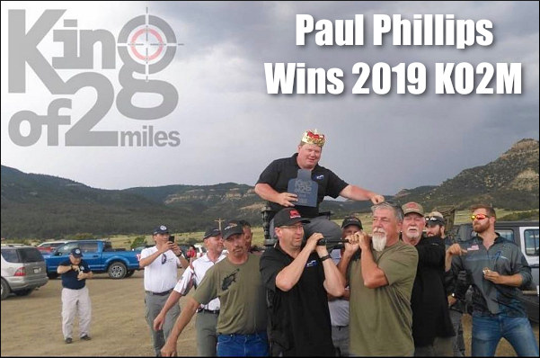 Ko2m king two miles raton whittington center New Mexico Paul Phillips McMillan Litz ELR