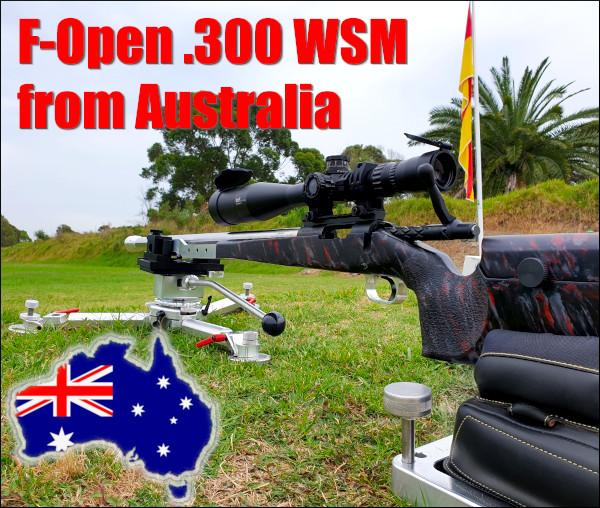Australia F-Class F-Open .300 WSM Win Short Mag sunday Gunday