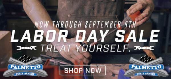 Labor day code discount Palmetto Armory free hazmat