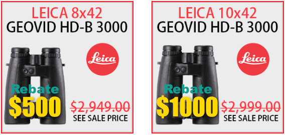 Leica geovid lrf crf rangefinder trinovid rangemaster discount instant rebate black friday sale