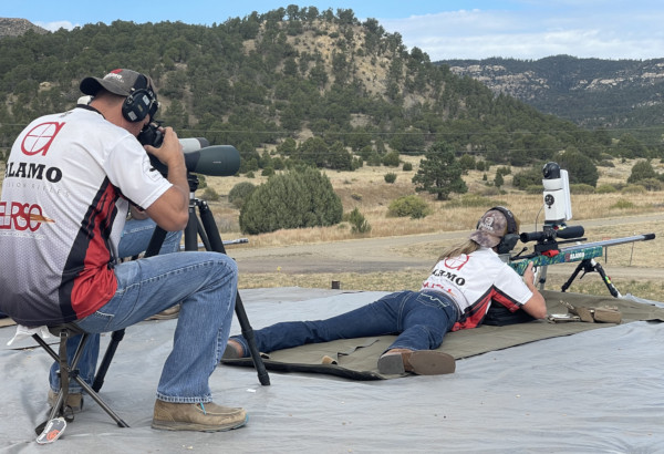 King of 2 Miles Queen Lindsey Paul Raton ELR Alamo Precision Rifles