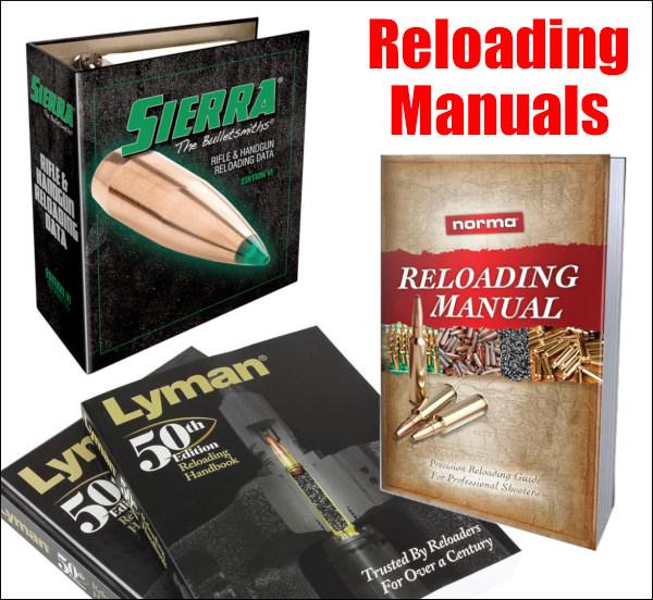 reloading hand-loading reload data manual sierra berger hornady lyman