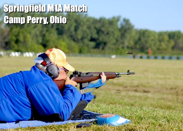 springfield m1A rifle camp perry cmp