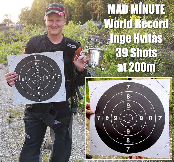 Mad Minute Norway Haga 6.5x55 speed shooting marksmanship British Army
