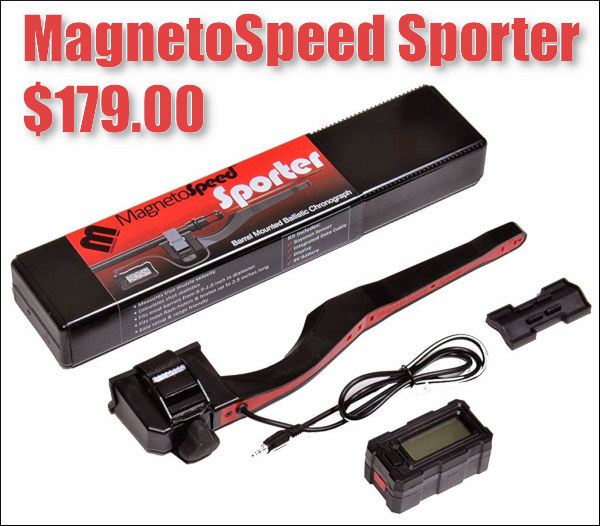 magnetospeed sporter chrono chronograph test review product speed bullet trajectory price sale