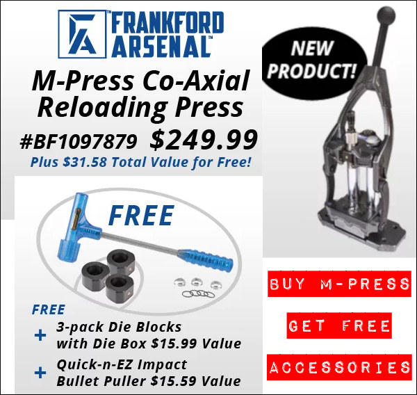 frankford arsenal m-press sale