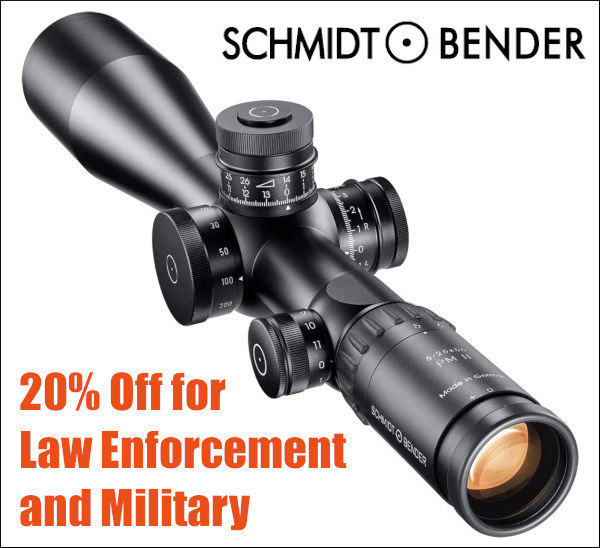 memorial day optics sales horus schmidt bender
