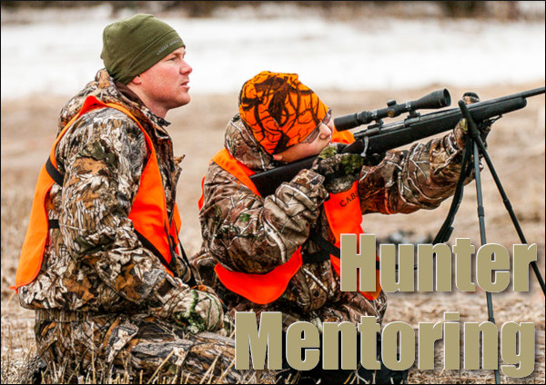 Hunter hunt hunting recruitment mentor mentoring junior novice training license licensing programs