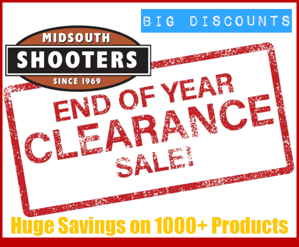 Midsouth Shooters Supply End of Year Clearance Sale EOYC discount prices New Year 2020