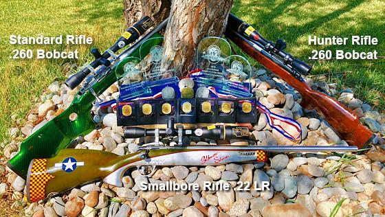 Erich Mietenkorte .260 Bobcat silhouette rifle Lilja