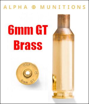 mike mccasland 6mmGT 6 GT alpha brass 6BRA PRS F-Class