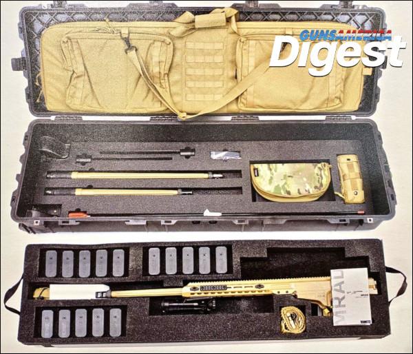Barrett Firearms MRAD MK22 multi caliber sniper rifles .308 winchester win .300 Norma magnum .338 Lapua Magnum