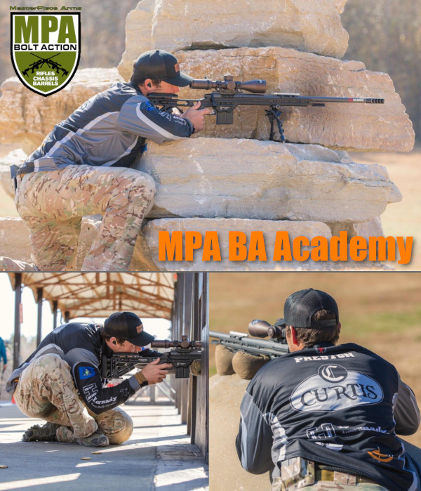 MPA BA Academy PRS NRL training clinic Rockland Precision Pennsylvania Masterpiece Arms
