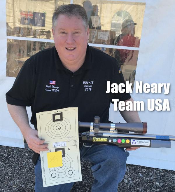 Jack Neary Team Lapua Vihtavuori WBC World Championships benchrest 6mm PPC Calgary Alberta Canada