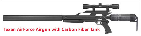 Texas airforce airgun carbon fiber
