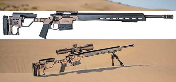Christensen Arms steel barrel chassis rifle