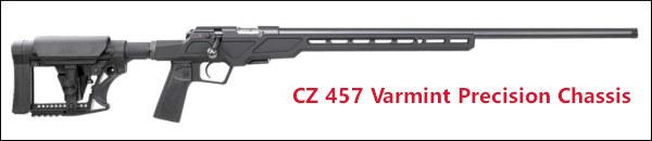 CZ 457 varmint precision chassis rifle