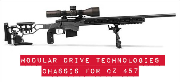 Modular Drive Technologies (MDT) ACC chassis cz 457 rmifire