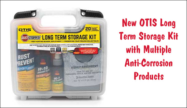 Otis Long-Term Storage Kit rust prevention