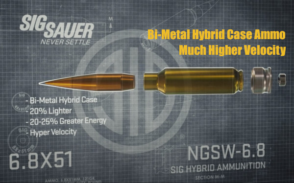 Sig Sauer NGSW army program weapons new 6.8x51 hybrid ammunition