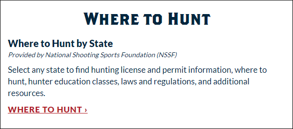 hunter education national hunting fishing day