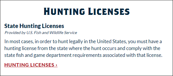hunter education national hunting licenses fishing day