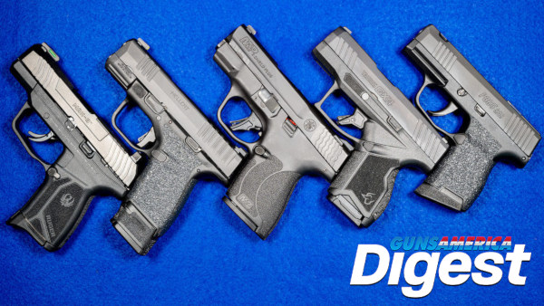 9mm pistol compact carry glock sig sauer smith wesson springfield hellcat ruger Max-9 P365 guns america digest