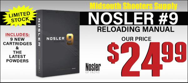 Nosler reloading guide number 9 9th edition handbook book load data manual