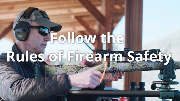 Nosler first day range safety video
