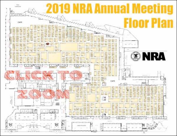 NRA convention and annual meetings exhibit map show app