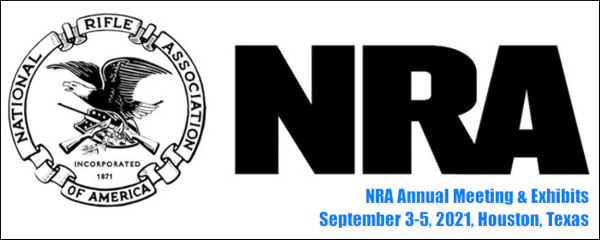 NRA 2021 convention Houston TX texas brown convention center 150th anniversary National rifle association meetings