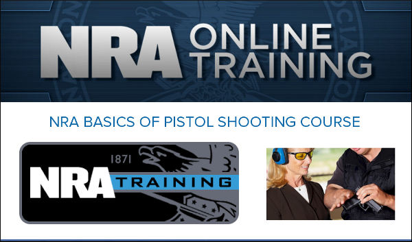 nra pistol basic shooting training course