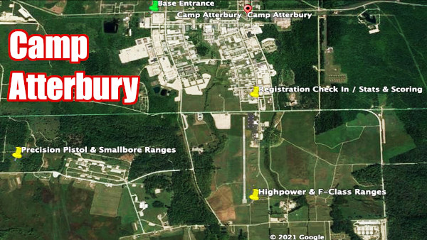 Camp atterbury indiana satellite map