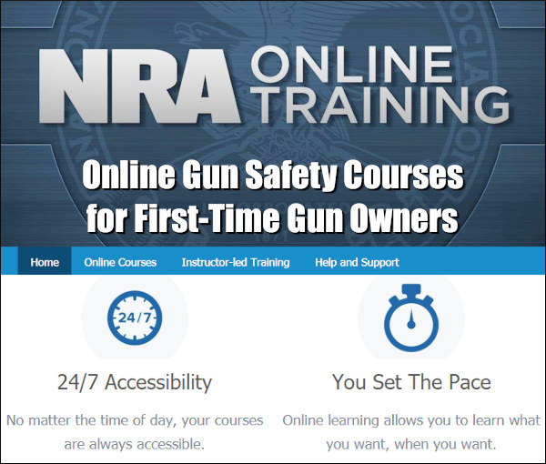 NRA Online firearms gun safety training program
