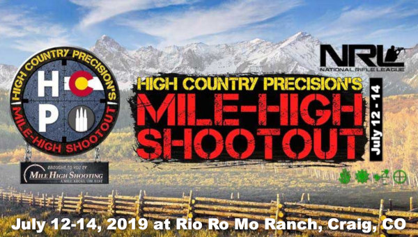 NRL PRS Colorado Mile-High Shootout tactical Match