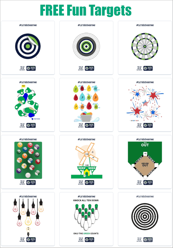 NSSF Free Fun targets