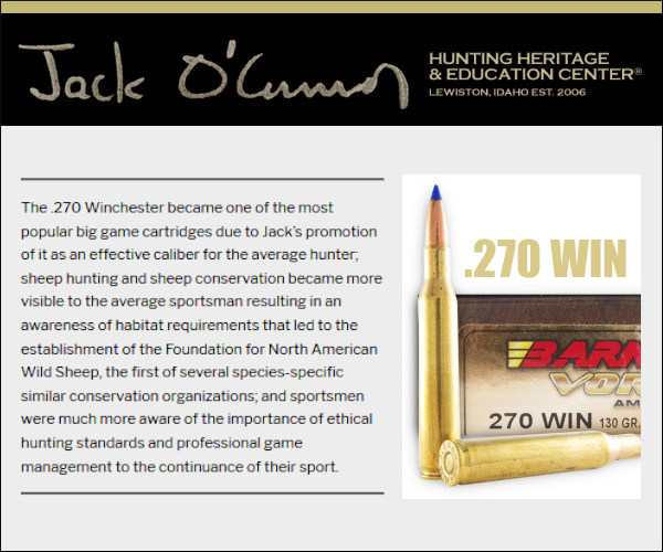 Model 70 Winchester Jack O'Connor .270 Win