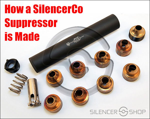 Silencerco suppressor factory video production metal fabrication can silencer baffle